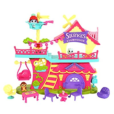 Squinkies Squinkieville Clubhouse Playset