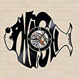 Phish_Best Wall Clock_12'' (30cm) Wall Clock Made Of Vinyl Record, Black
