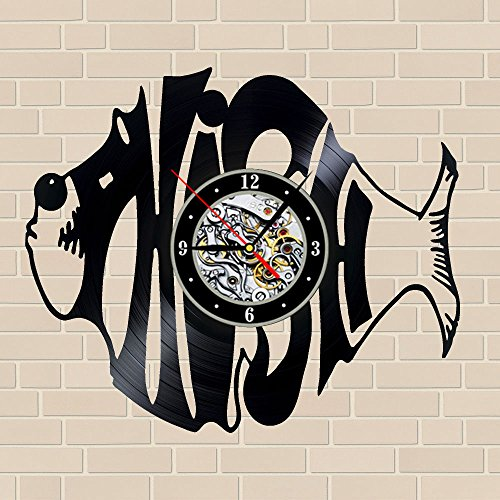 "Phish_Best Wall Clock_12""  Wall Clock Made Of Vinyl Record,"