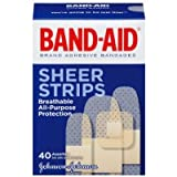 Band-Aid Comfort-Flex Adhesive Bandages-Sheer-40ct, Assorted Sizes