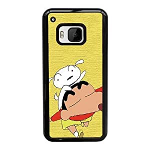 HTC One M9 Cell Phone Case Black Crayon Shin-chan ST1YL6697599