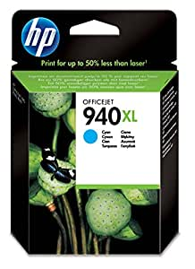 HP 940XL - Cartucho de tinta original de alta capacidad, color cian