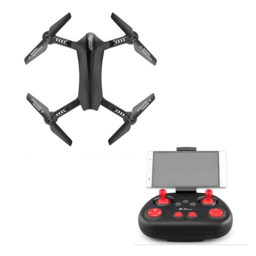 AG Rwdacfs Drone Home Quadcopter Aereo Professionale HD, Videocamera Live Video, 120 Gradi; Funzione Grandangolare, Folgen Sie MIR, Nero,A,Taglia Unica
