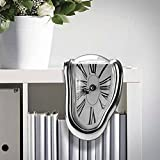 chinatera Novelty Creative Modern Melting Clock