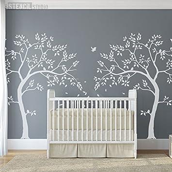 Dinosaurier Schablonen Wand Schablone für Kinderzimmer Dekor | Etsy