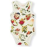 Earthy Organic Baby Sleeveless Bodysuit Boy Girl (8 Sizes: Preemie-24M) 100% Organic Cotton (6 Months, Primrose)
