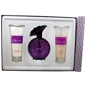 Aubusson Histoire D'amour Cherie for Women Gift Set (Eau de Parfum Spray, Lotion, Shower Gel)