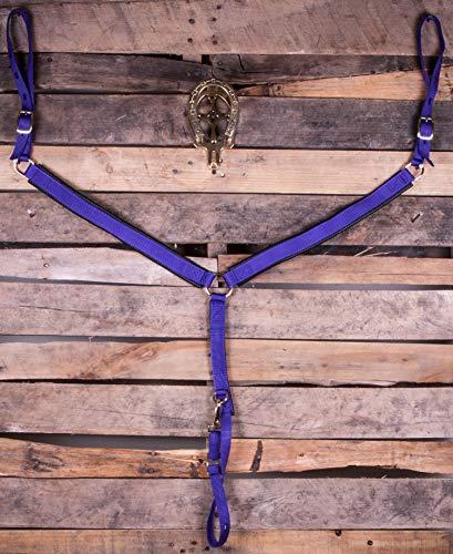 (Mustang Western Poly Tack Set Purple)