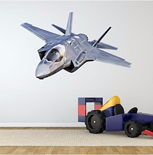 (Fighter Jet Wall Decal F-35 Lightning II Joint Strike Lockheed Martin Next Gen18
