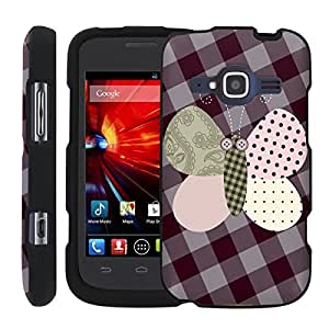 [ManiaGear] Design Graphic Image Shell Cover Hard Case (Purplefly) for ZTE Concord II 2 Z730