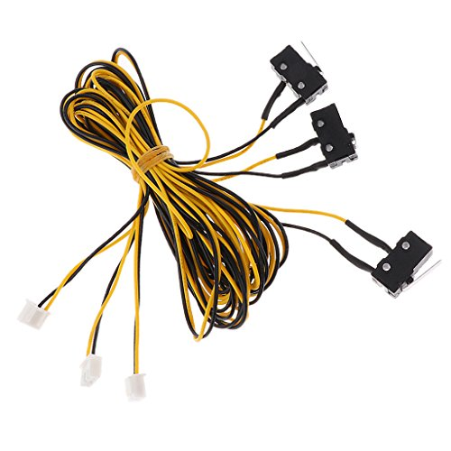 Mechanical Limit Switch - MonkeyJack 3D Printer Endstops Limit Switch Mechanical Switcher for Reprap Printer Cable length 1500mm/59inch