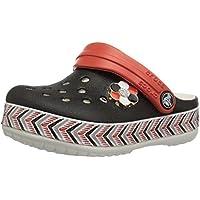 Crocs Kids' Drew Barrymore Crocband Chevron Clog
