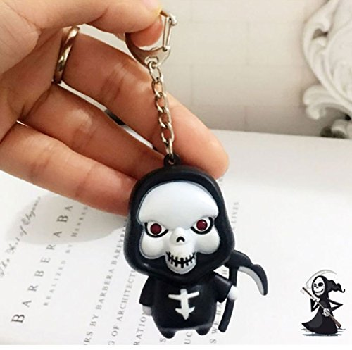 ATOO Halloween Red LED Light Ghosts Cartoon Keychain Bag Charms for $<!--$7.99-->