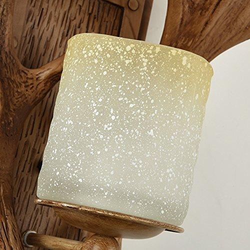 SADASD Geweih Wand Lampe einfach Modernes Schlafzimmer Bett kreativen Hintergrund Wohnzimmer Treppenhaus Gang Wandleuchten