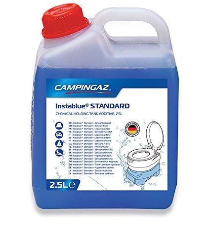 Campingaz Instablue Standard 2.5 Liter Sanitärflüssigkeit für Abwassertank der Campingtoilette, Sanitärzusatz für…