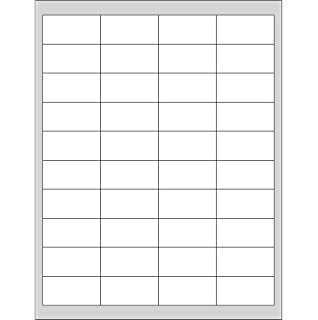amazon com 2 x 1 rectangle barcode labels pack of 4 000
