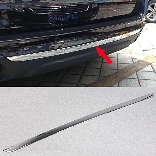 Bumper Tailgate Trunk Lid Moulding Trim Fit For BMW X5 2014 2015 2016 2017 (Chrome Trunk Lid Trim)
