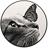 Special Mounts and Stands,Expanding Stand Grip Pop Mount Socket for Smartphones, iPhone and Tablets - Cat&Butterfly