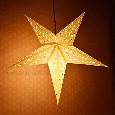 "24"" Paper Star Lantern, Hanging (Light Not Included)"