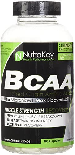 NutraKey BCAA 1500mg, 400 Count