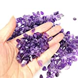 TR318 Purple crystal Amethyst Pebble Gravel for Fish Turtle Tank Landscape bottom decoration Brand Colorful opal glass Sand stone rocks glass ornament for Fantastic Garden or Yard (Amethyst)
