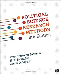 amazon political science research methods johnson general