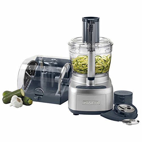 Cuisinart - Elemental 13 Cup Food Processor with Spiralizer & Accessory Storage Case