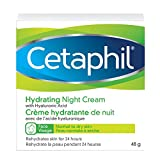 Cetaphil Hydrating Night Cream with Hyaluronic Acid, 48g