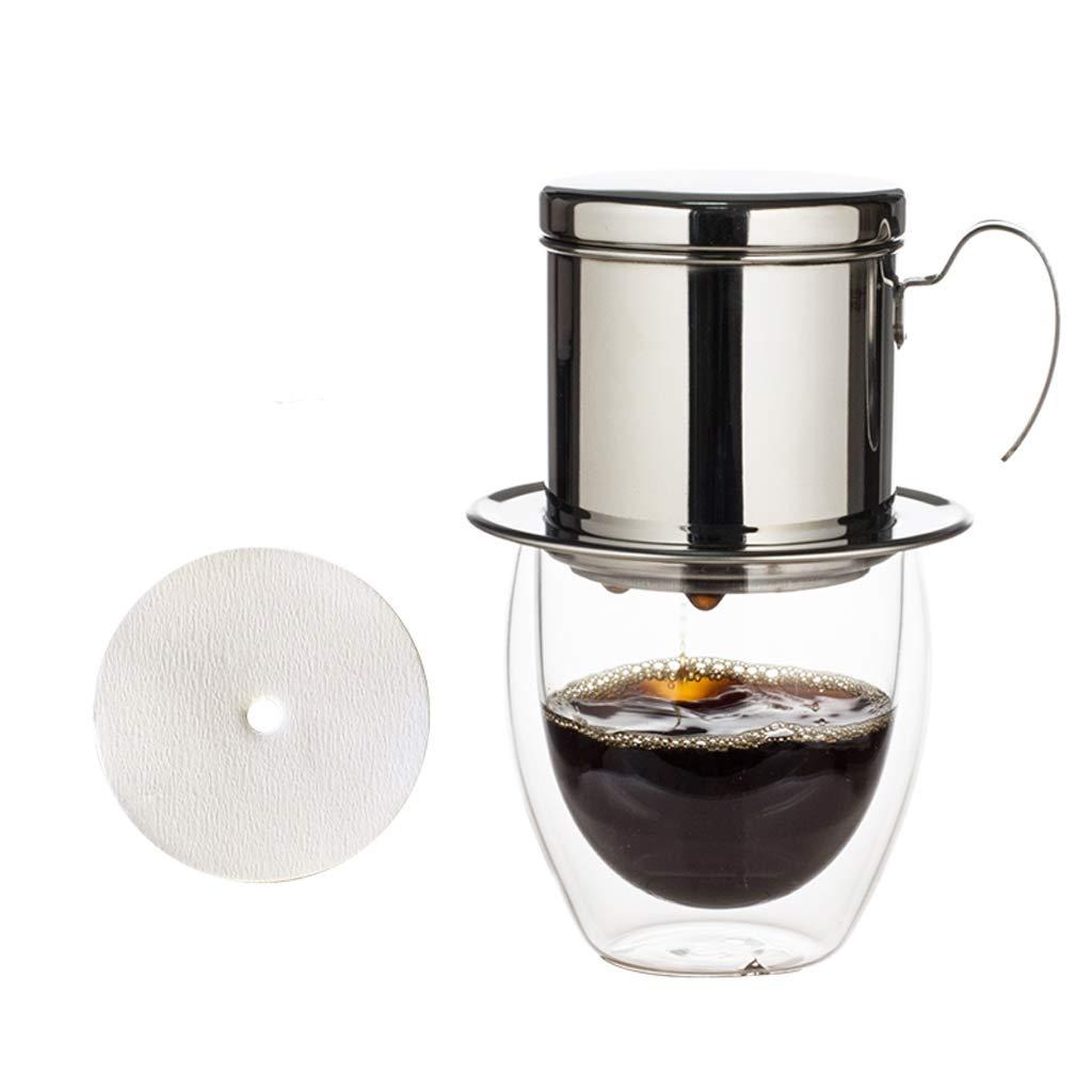 Acquisto Chunxia Casalinghi in Acciaio Inox gocciolamento pentola caffettiera Filtro Tazza per Inviare Carta da Filtro 200 ml Prezzi offerta
