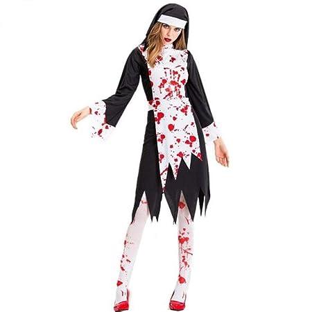 XRQ Disfraz de Vampiro Negro de Halloween, Disfraz de Zombie ...