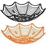 Spiderweb Serving Bowl for Halloween Candy by Momentum Brands
