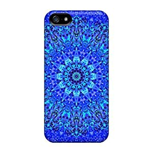 phone covers Fashion Protective ??1a€???1a€? Blue Mosaic ??1a€???1a€? Case Cover For iPhone 5c WANGJING JINDA