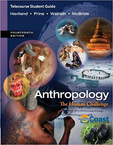 Laden Sie Bücher auf das iPhone Amazon herunter Telecourse Study Guide for Haviland/Prins/Walrath/McBride's Anthropology: The Human Challenge, 14th auf Deutsch PDF