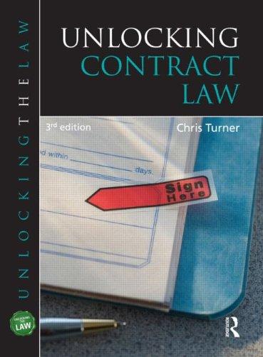Unlocking Contract Law (Unlocking the Law)