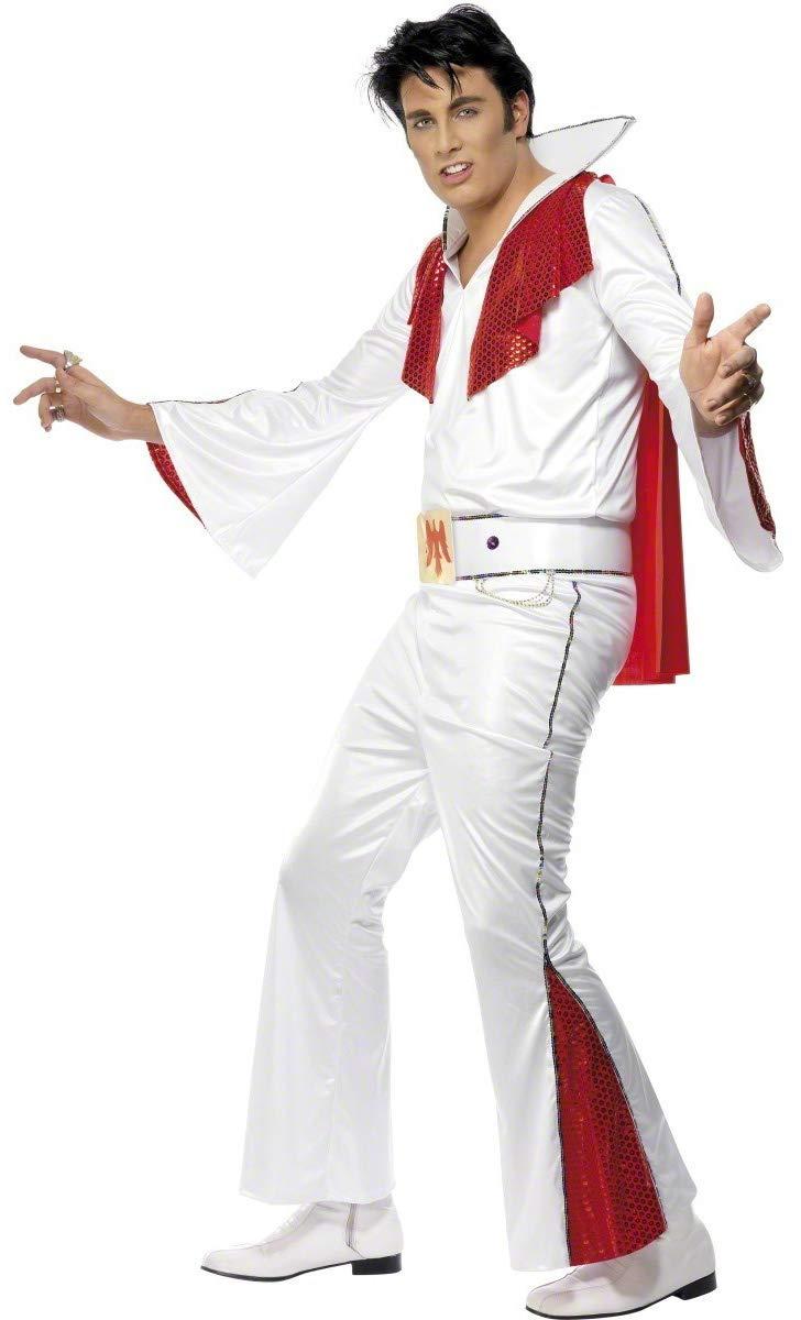Boys 2 Piece Elvis Fancy Dress Costume