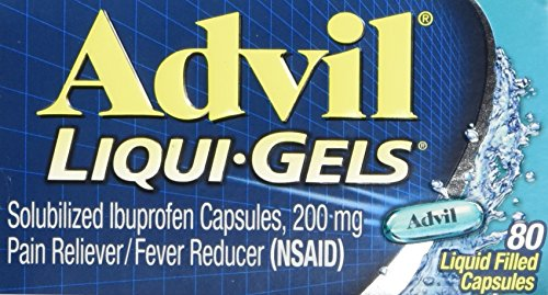 Advil Advanced Medicine for Pain, 200mg, Liqui-gels 80 Ea