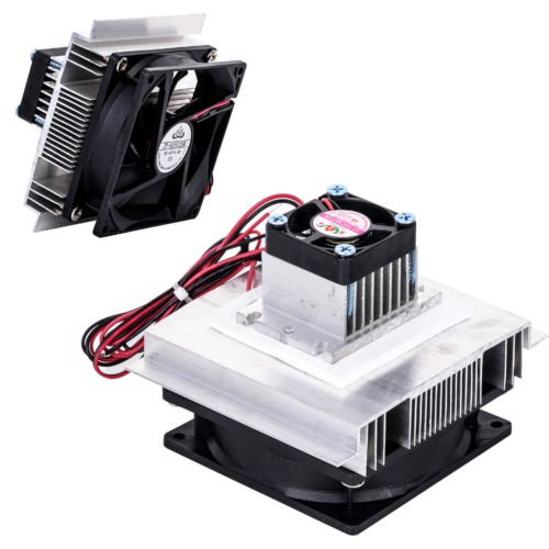 12V Thermoelectric Peltier Refrigeration Cooling Cooler Fan System Heatsink Kit by Balance World Inc (Image #2)