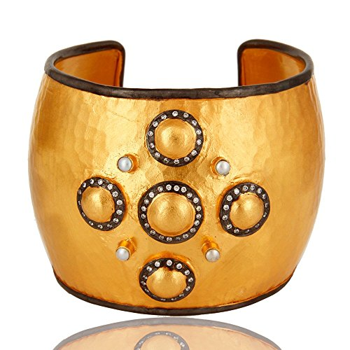 Indian Ethnic Bollywood Cuff Bracelet Jewellery for Women's Wedding Gift Jewelry by Dhruvansh Creations