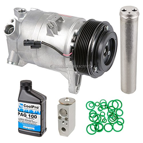 (OEM AC Compressor w/A/C Repair Kit For Nissan Maxima 2009-2014 - BuyAutoParts 60-81472RN NEW )