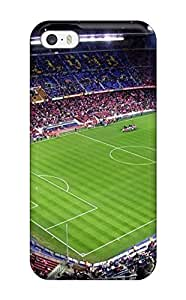 Cute Tpu Dan Larkins Camp Nou Case Cover For Iphone 5/5s by runtopwell
