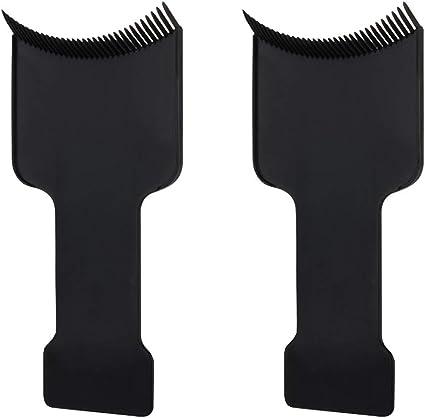 Heallily 2 Unids Tinte para el cabello resalte el peine del ...