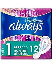 Always - Platinum Normal (Maat 1) Met Vleugels - Maandverband - 12 stuks
