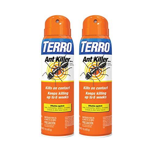 Terro T401SR Ant Killer Spray-2 Pack, White
