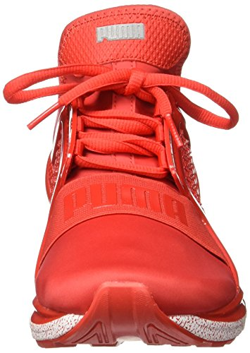 PUMA IGNITE LIMITLESS SNEAKERS ROSSO BIANCO 189641-02 - 42, ROSSO