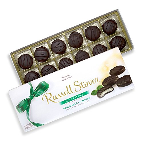 (Russell Stover Mint Patties Box, 11 Ounce)