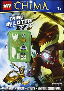 Tribù In Lotta. Legends Of Chima. Lego. Ediz. Illustrata. Con Gadget