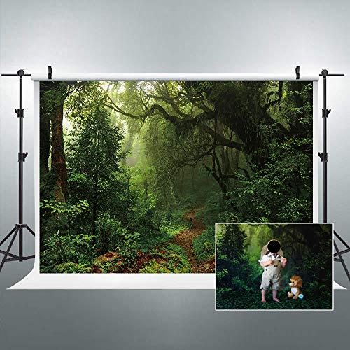Jungle Tree Backdrop - Riyidecor Jungle Forest Backdrop Nature Trees
