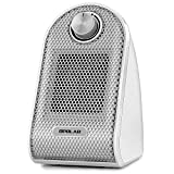 OPOLAR Mini Ceramic Heater with Adjustable Thermostat, 500 W Heating for Small Room