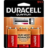 Duracell Quantum 9V (QT1604), 3-Count