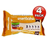 4 Pack, Smart Baking Company, SmartCake ZERO Carbs, Gluten Free, Non-GMO, Sugar Free and Starch Free, Low Carb Dessert, Low Carb Snacks, Low Carb Cupcakes (Tangerine) For Sale